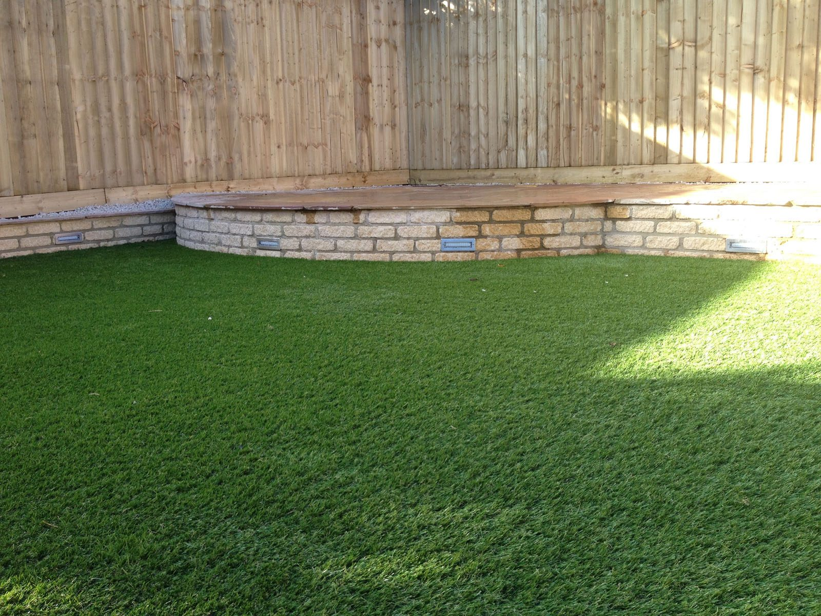 Artificial grass installation from JTU, serving Daventry, Northamptonshire, and Warwickshire